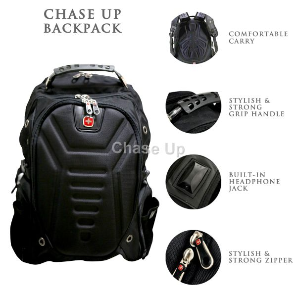 Gents Backpack 7611 TI-017 Imp (Black)